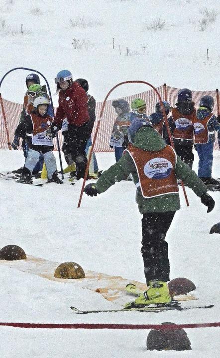 Die Tage ohne Schnee waren gestern ver...tarteten viele Langläufer ihre Touren.    Foto: Sebastian Barthmes