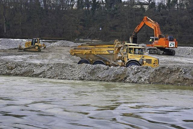 Kraftwerk Birsfelden bekommt Genehmigung, den Rhein auszugraben