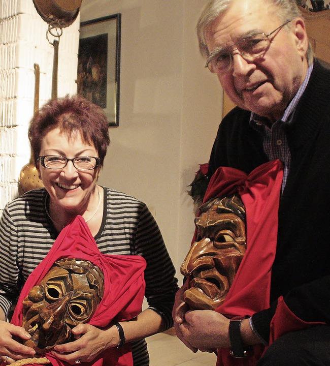 Roland und Jutta Fricker freuen sich, ...er Öffentlichkeit präsentiert werden.   | Foto: Jörn Kerckhoff