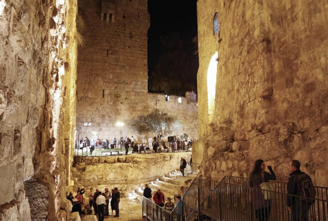 Besuchermagnet: Das Davidsturm-Museum in Jerusalem   | Foto: Tower of David Archives