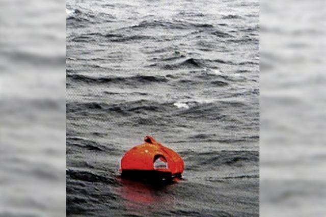 Rettungsaktion in stürmischer Adria