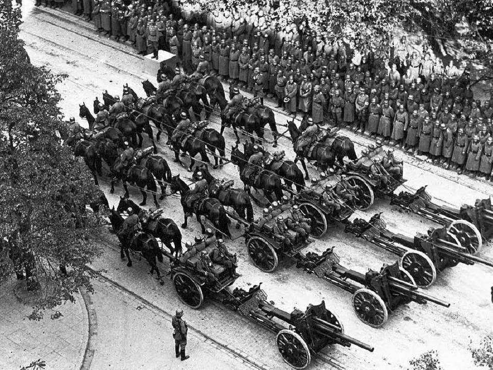 Parade der Wehrmacht 1939