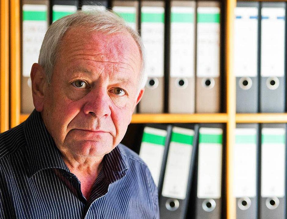 Kurt Schrimm leitet seit 2000 die Zent...listischer Verbrechen in Ludwigsburg.     Foto: dpa