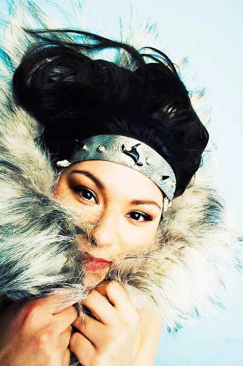 Der erste Inuit-Superstar: die Sängerin Tanya Tagaq     Foto: Promo