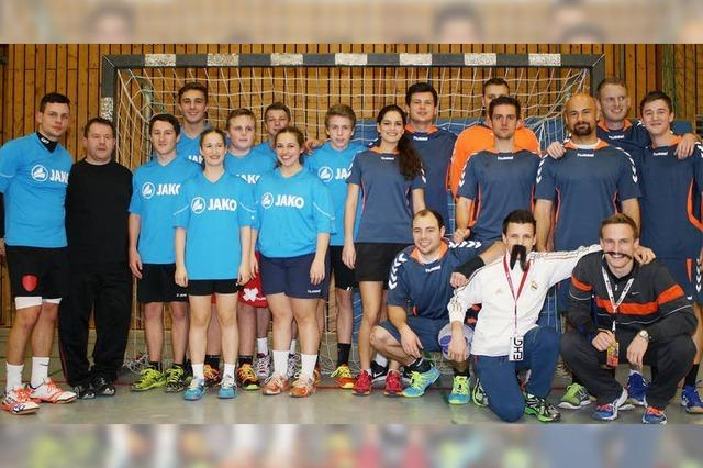 Handball-Wanderpokal geht an Musikverein Teningen