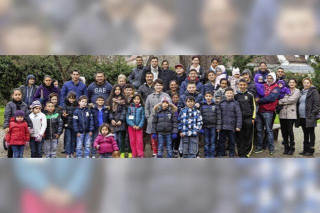 Weihnachtsfreude für 25 Roma-Familien