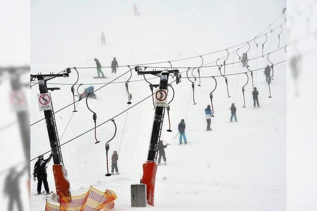 Endlich ist genug Schnee da