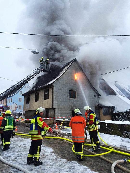 Brand Sulzburg    Foto: Volker Münch