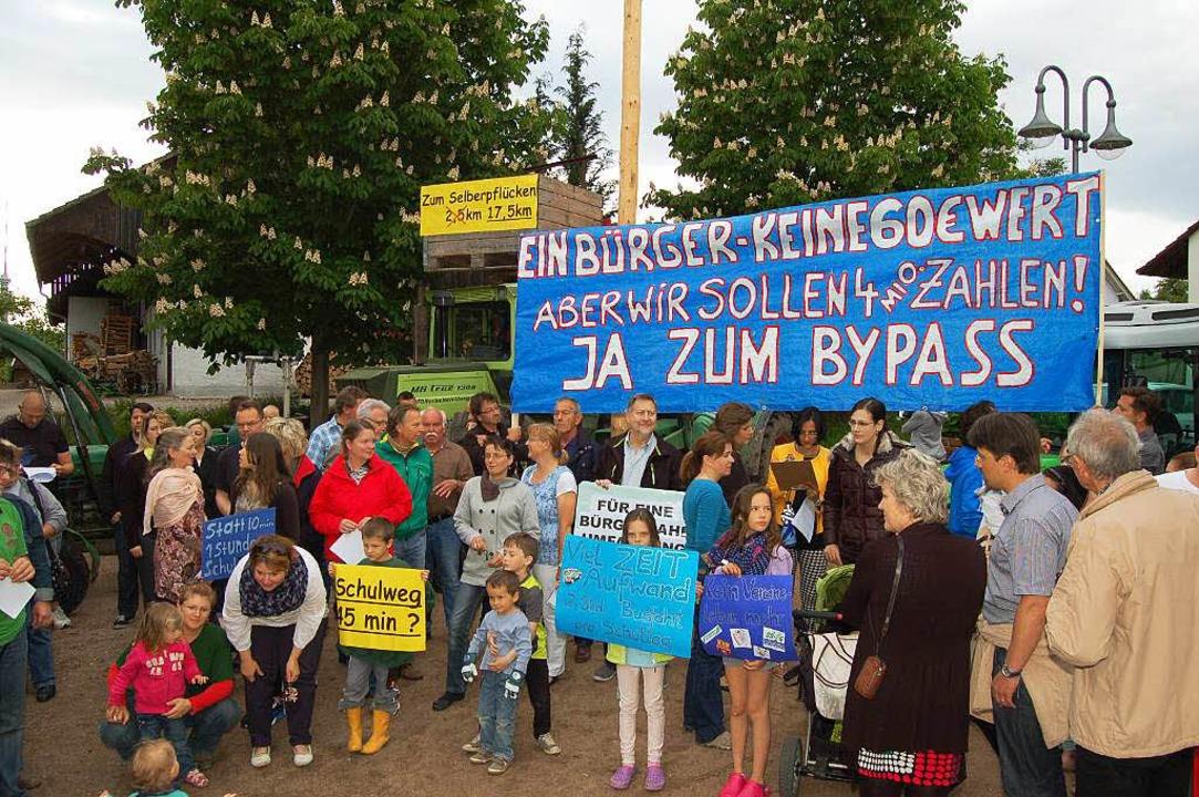 Im Mai kam es auf dem Rührberg zu Anwohnerprotesten.  | Foto: Heinz u. Monika Vollmar
