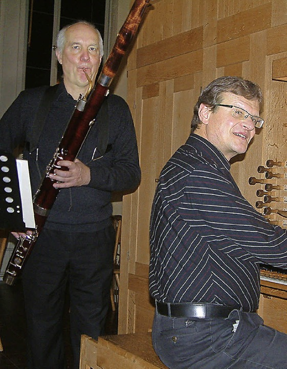 Christian Rabe und  Herbert Deininger     Foto: Roswitha Frey