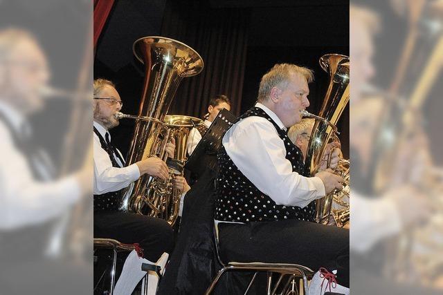 Blasmusik mit Polka, Swing und Rock