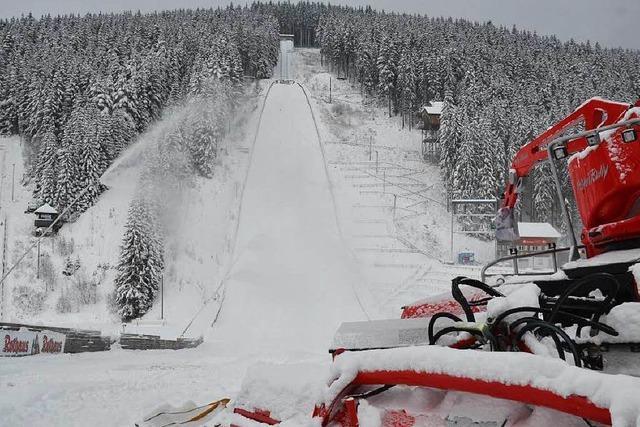 Skisprung-Weltcup in Titisee bringt viel Arbeit mit sich