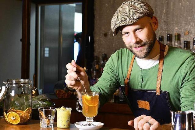 So mixt der Freiburger Bartender Boris Gröner Hot Buttered Rum