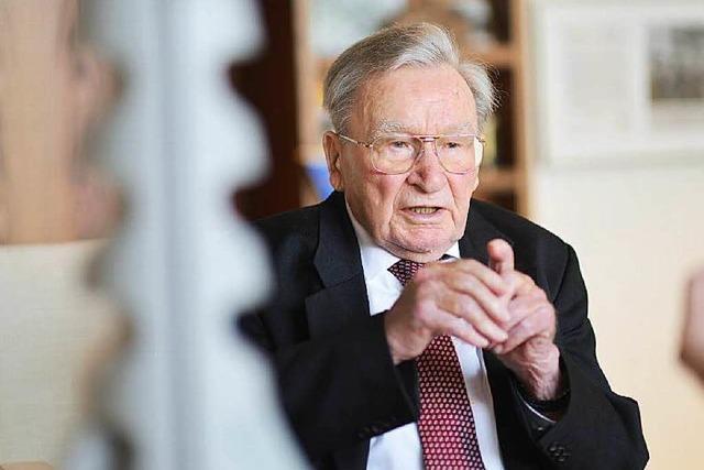 Dübelkönig Artur Fischer geht auch mit 95 noch ins Büro