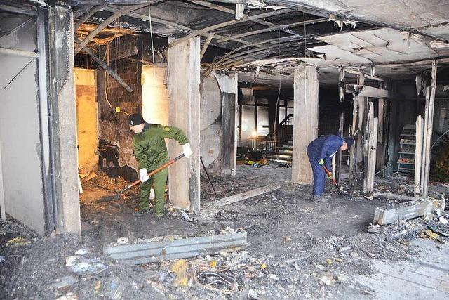 Brand im Landratsamt Emmendingen: Technischer Defekt war wohl Ursache