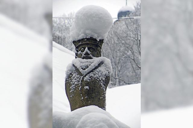Der Winter hat die Hohenlupfenstadt fest im Griff