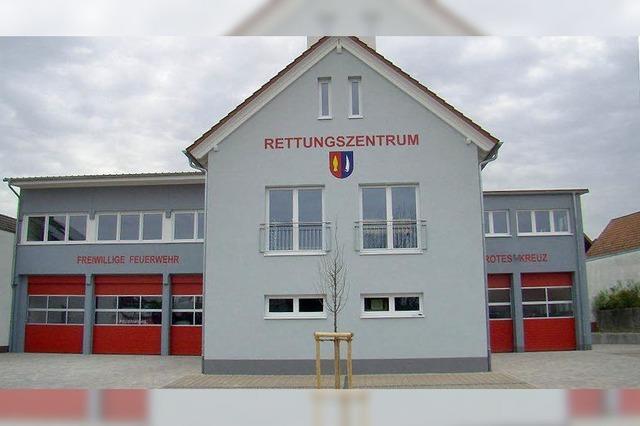 Rettungszentrum und neues Bauland