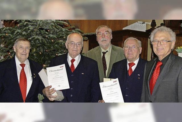 Chorleiter Reinhard Ruf gilt als der Vater des Erfolges