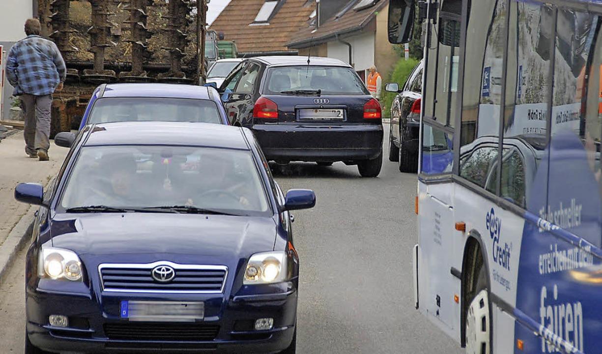 Nadelöhr Lörracher Straße  | Foto: Herbert Frey