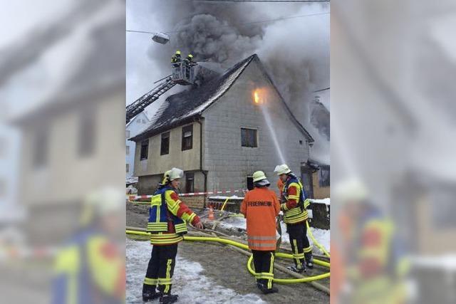 Hilfswelle nach Brand in Sulzburg