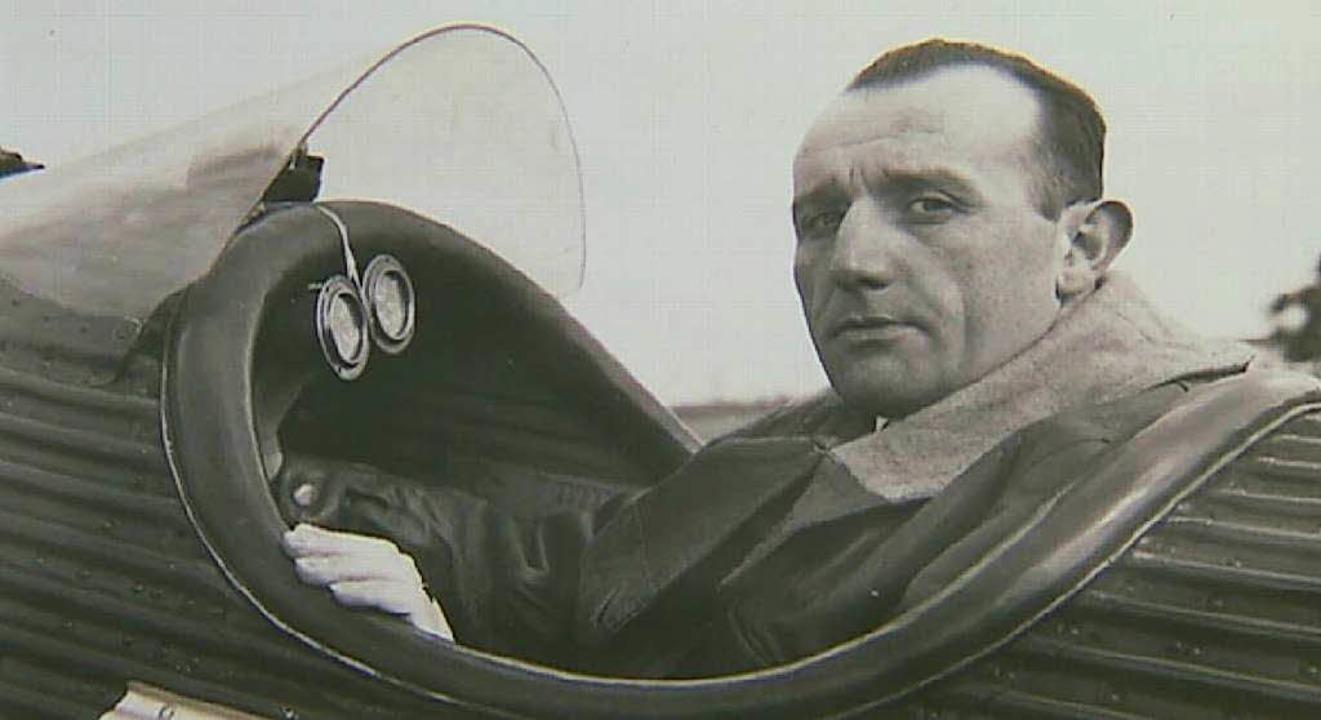 Ludwig Weber als Flieger  | Foto: Repro: BZ