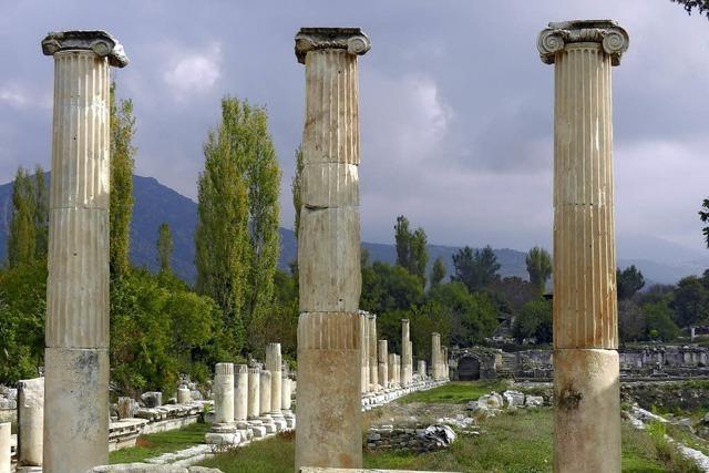 Artemistempel in Ephesus: Neues von der Antike.