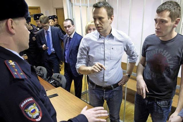 Härte gegen Kremlkritiker