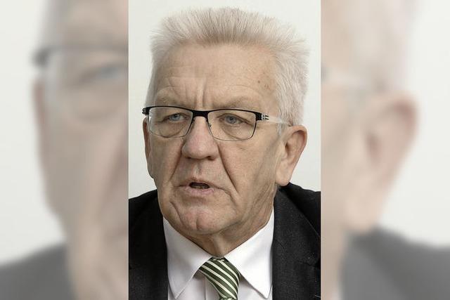 Kretschmann lobt das Engagement der Bürger