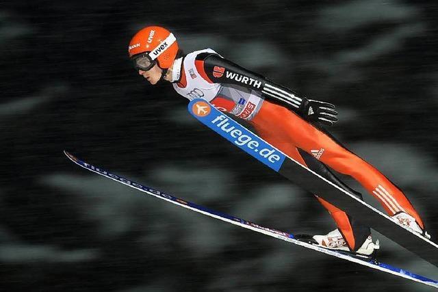 Vierschanzentournee: Deutsche Skispringer wollen kämpfen
