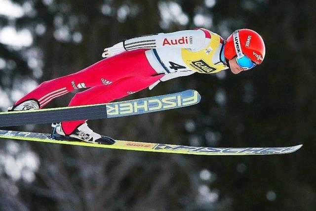 Fabian Rießle will beim Weltcup in Schonach nicht Favorit sein