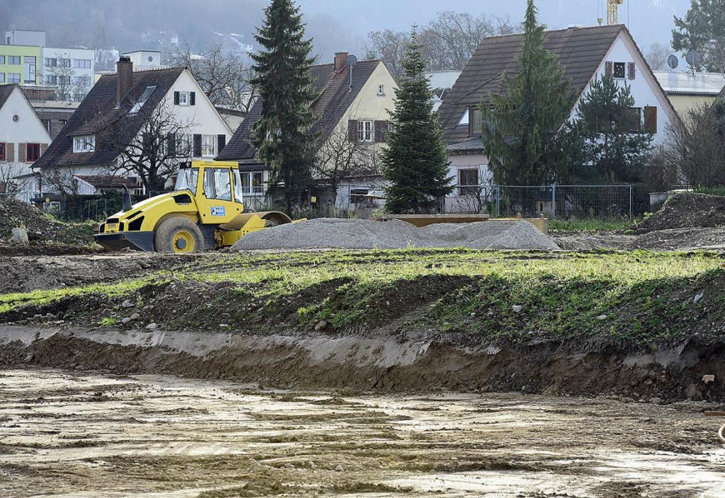 Vorbereitungsarbeiten auf Gutleutmatten-Ost   | Foto: Ingo Schneider