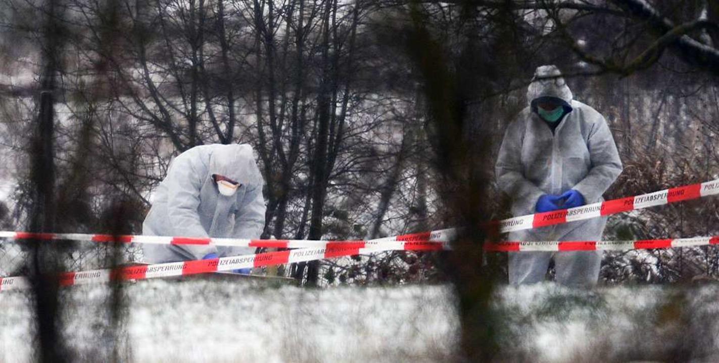 In Neuenburg ist am 29. Dezember die L...rigen auf einem Acker entdeckt worden.  | Foto: dpa