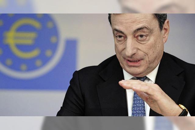 Draghis Neuland