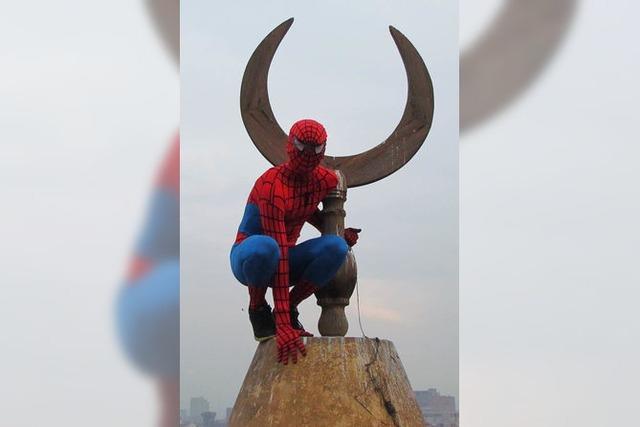 Zu viel Stress für Spiderman