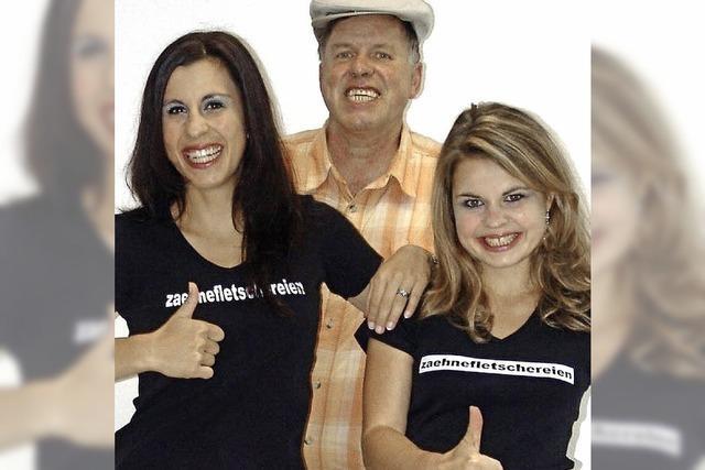 Fetscher-Familie fletscht noch einmal die Zähne im TAM-Theater