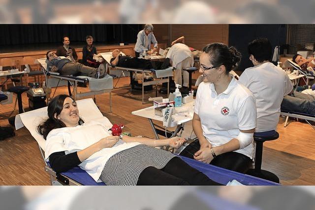 Hohe Bereitschaft zum Blutspenden trotz Festtagen