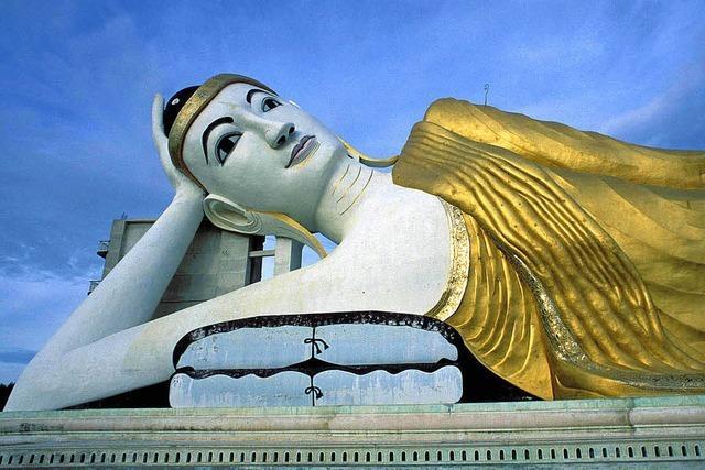 Diavortrag Burma: Goldene Pagoden
