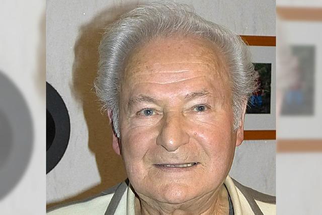 Reinhold Grafmüller 80