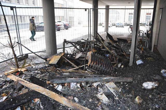 Wie es nach dem Feuer im Landratsamt Emmendingen weitergeht