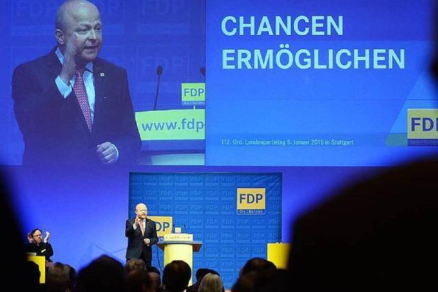 Die FDP macht sich für die Landtagswahl 2016 warm