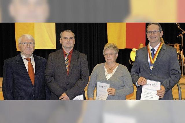 Große Verdienstmedaille in Gold für Werner Mamier