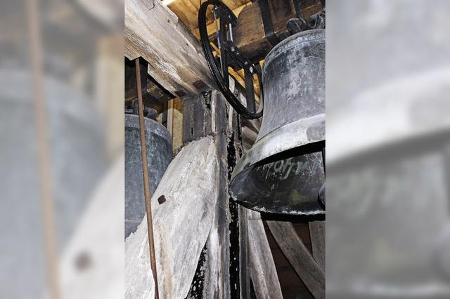 Höhere Schäden am Kirchturm