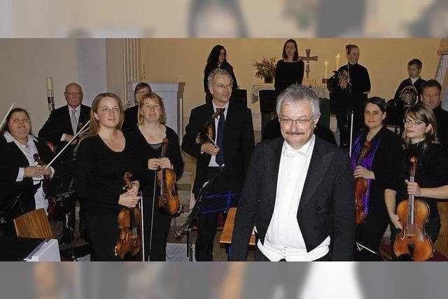 Orchesterverein Bad Säckingen spielt in der Stadtkirche