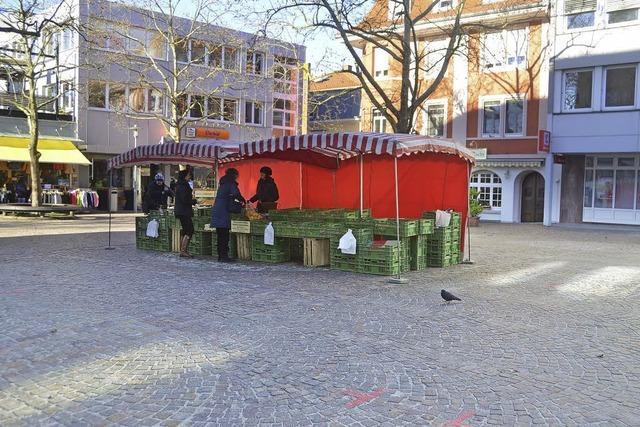 Der kleinste Wochenmarkt
