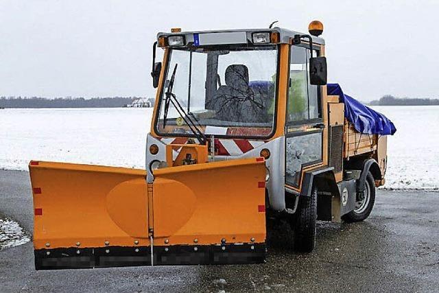 Neues Fahrzeug auch für Winterdienst