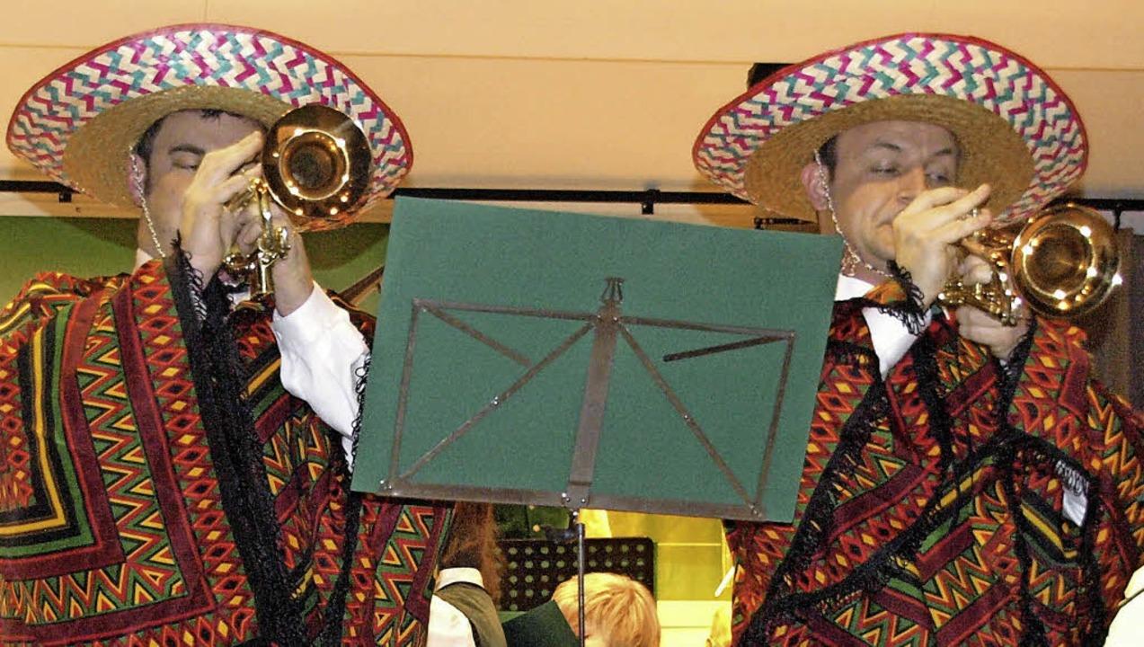 Gut aufgestellt präsentierte sich die ...bei ihrem traditionellen Jahreskonzert  | Foto: Karin Stöckl-Steinebrunner