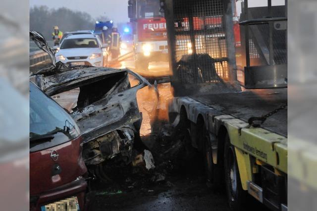38-Jähriger stirbt bei Unfall auf A 5