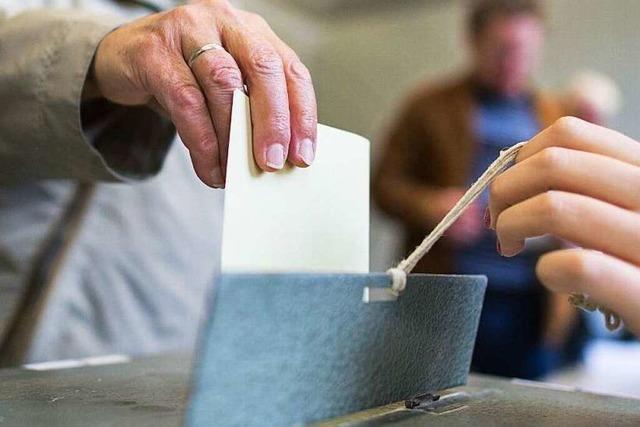 Benachrichtigung ohne Inhalt: Stadt lässt die Wähler grübeln