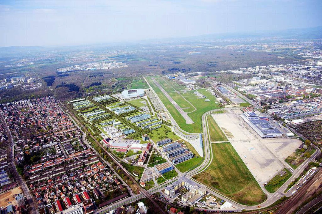 Am 1. Februar 2015 wird abgestimmt &#8...er das neue SC-Stadion im Wolfswinkel.  | Foto: HHVISION