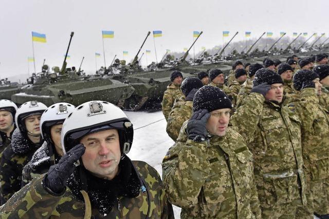 Die Ukraine rüstet auf